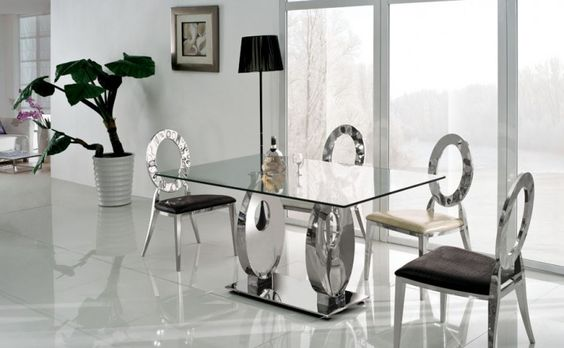 Glass Kitchen Tables Should Always Clean furniture Pinterest