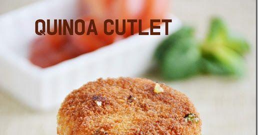 Quinoa cutlet | 7aum Suvai