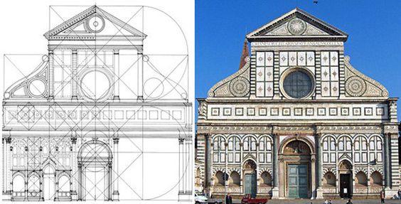 Leon battista alberti santa maria novella 1458 arte for Architecture quattrocento