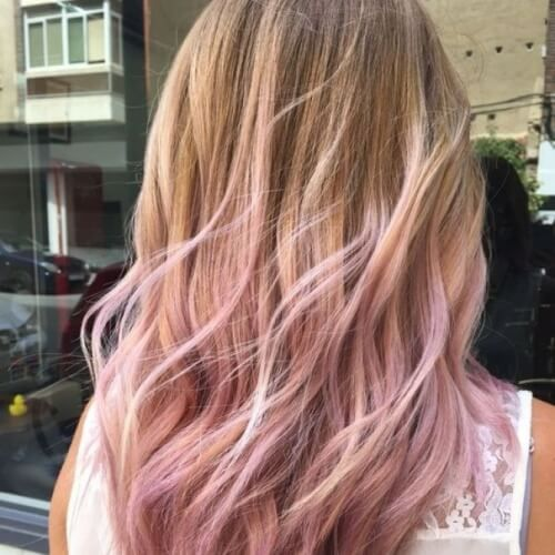 50 Blonde Hair Highlights For All Types Of Hair Colors Pink