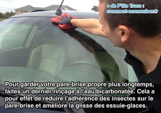 Le pare-brise des voitures est la vitre qui se salit le plus rapidement.  Découvrez l'astuce ici : http://www.comment-economiser.fr/garder-votre-pare-brise-propre.html?utm_content=buffer63cef&utm_medium=social&utm_source=pinterest.com&utm_campaign=buffer