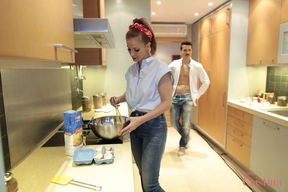 Cristina Ferreira, a TV Host, with Salsa High Waist Jeans