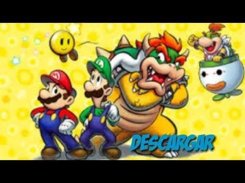 Como Descargar Mario Y Luigi Viaje Al Centro De Bowser Emulador Nds Emulador Mario Y Luigi Luigi
