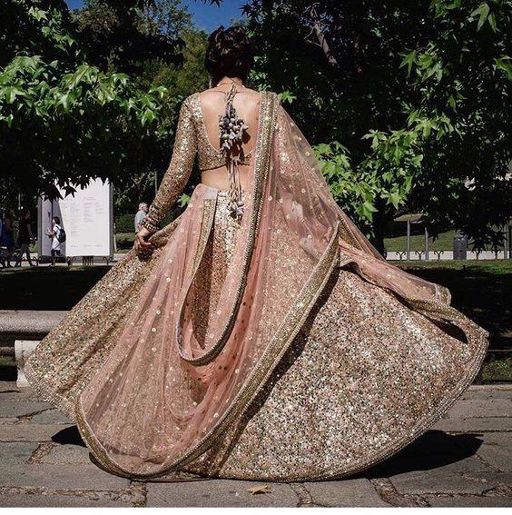 Sabyasachi bride # bling bling # Indian fashion