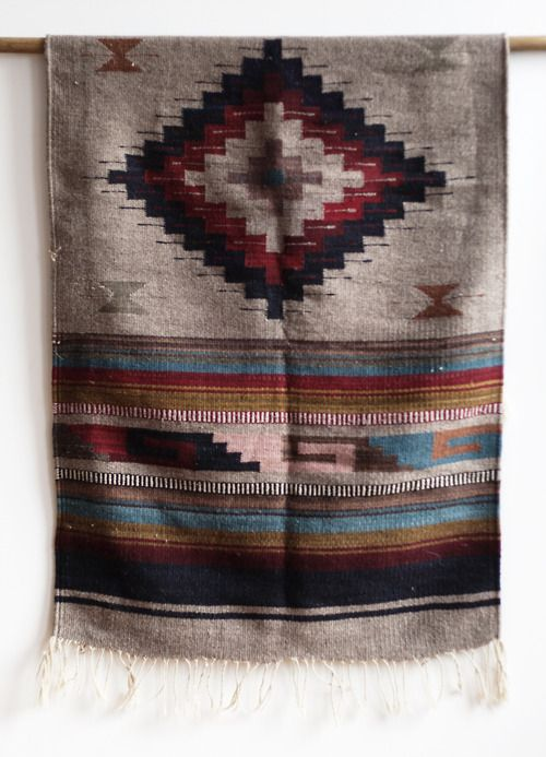 Wall Hanging Aztec Rug Navajo Eclectic Pinterest