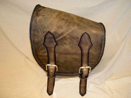 Soft Tail Schwingentasche Wasserbüffel Rustikal eigenes Design einfache Schließen z.b. Fat Boy, Heritage usw. verkauft