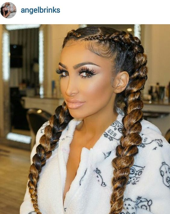 This look is so sexy, plus adorably cute. I think any girls boo will like this stylish doo