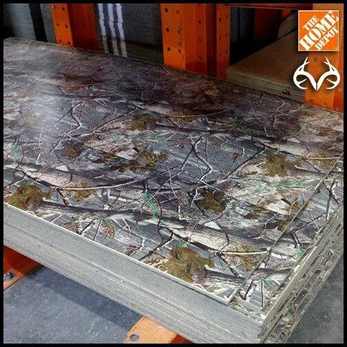 Camo Wall Paneling At Home Depot All Things Camouflage