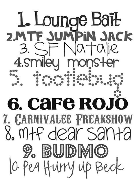 good valentine fonts