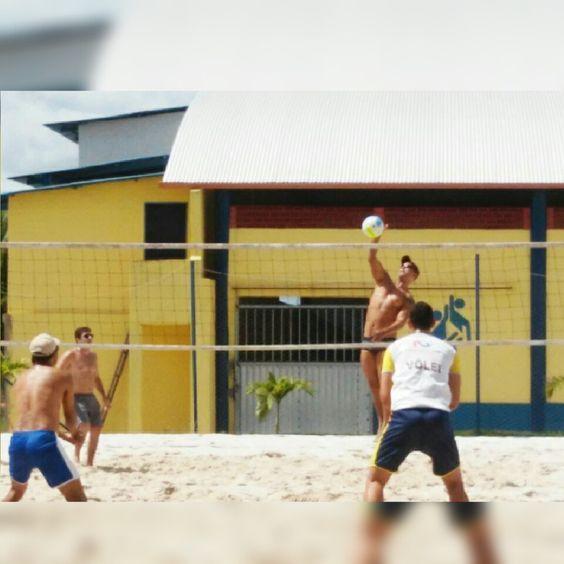 O babinha Domingo na areia!
