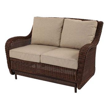 Sonoma Outdoors Presidio Patio Loveseat Glider Gliders Products And Patio