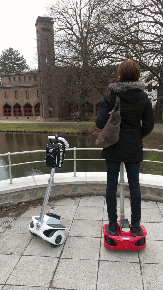 """Elektronische Mobilitätshilfe Sightseeing mit """"Robstep Robin M1""""  Robstep-Store.de"""