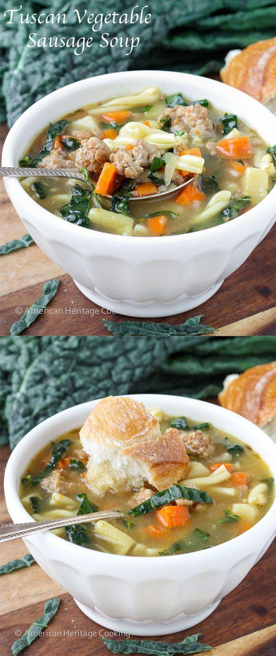 Soup recipe with pork sausage