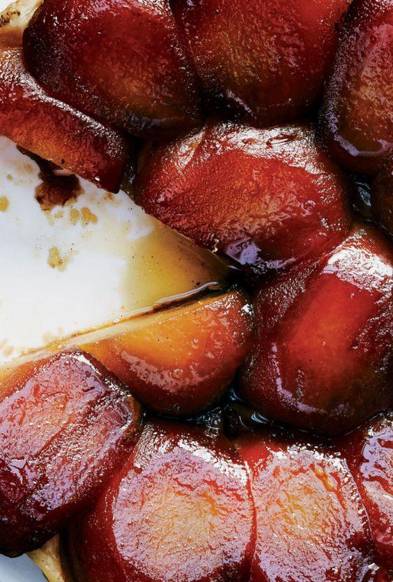Tarte tatin, Vanilla and Beans on Pinterest