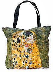 Klimt The Kiss Tote Bag