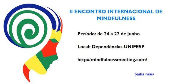 II Encontro Internacional sobre Mindfulness logo - Pesquisa Google
