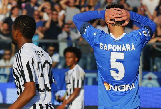 Empoli-Juventus, il film della partita