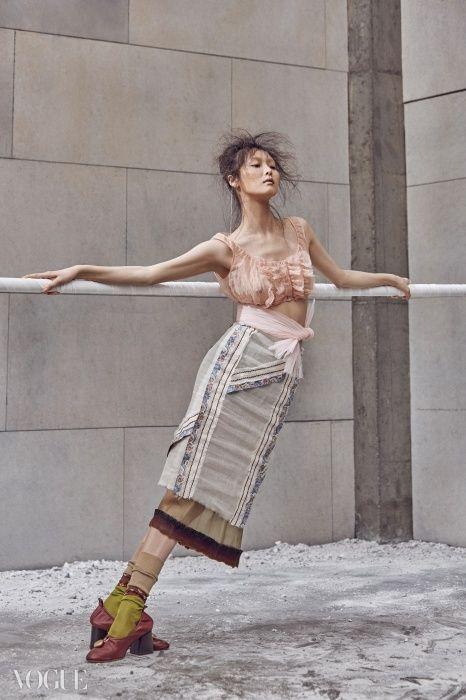 """""""The Ballet Fairy"""" Vogue Korea 2015"""
