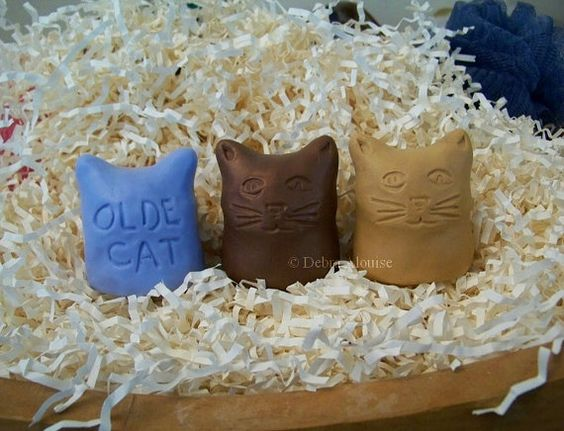 SALE Olde Cat Votive Kitty Cat Silicone Soap Mold by grandhorse, $19.99