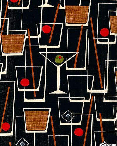 eQuilter Cocktail Lounge - Black