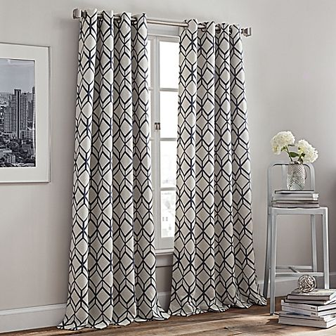 Rutherford Grommet Top Window Curtain Panel Panel Curtains