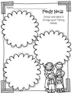 math worksheet : my family kindergarten worksheet  google search  history  : Kindergarten History Worksheets