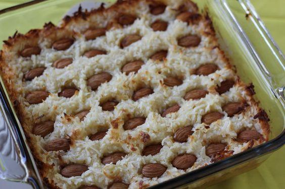 Almond Joy Cookie Dough Bake