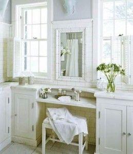 I love this built in vanity