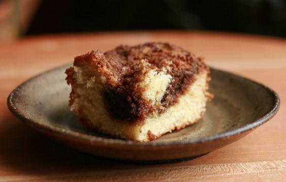 Coffee cake (cinnamon....)