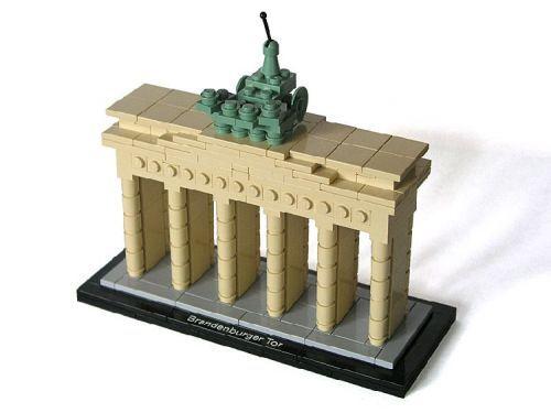 Brandenburger Tor A Lego Creation By Matija Puzar Mocpages Com