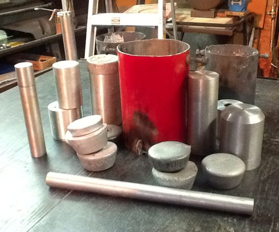 Jumbo Poor Man S Aluminum Crucible Diy 0 00 Cost Easy Diy Aluminum Molding Mold Making