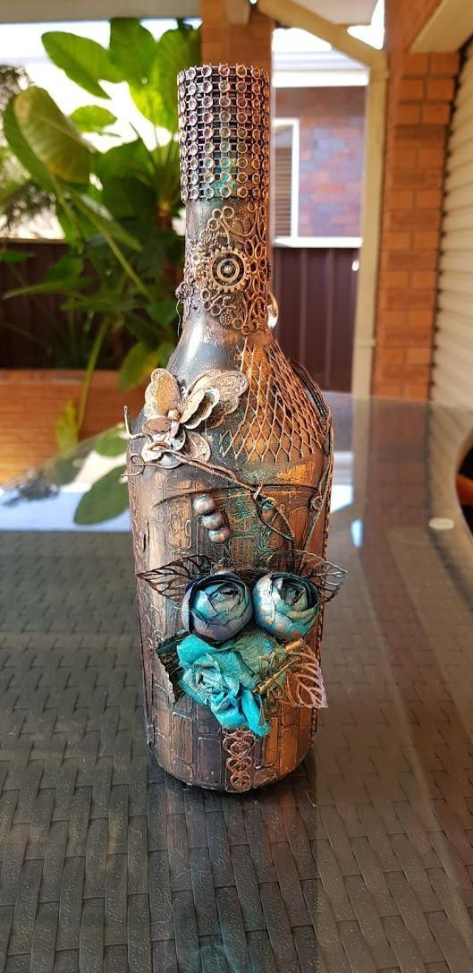 Wine Bottle Lamp Turn An Empty Wine Bottle Into A Fun Diy Lamp