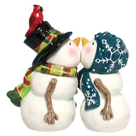 Christmas | Kissing snow couple ($11.99)