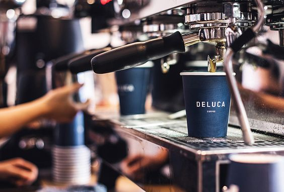 Picture of 10 designed by Christopher Doyle & Co. for the project Deluca Coffee. Published on the Visual Journal in date 24 October 2016