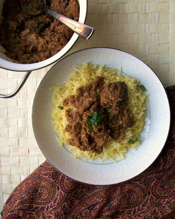 :: salman rushdie's lamb korma recipe