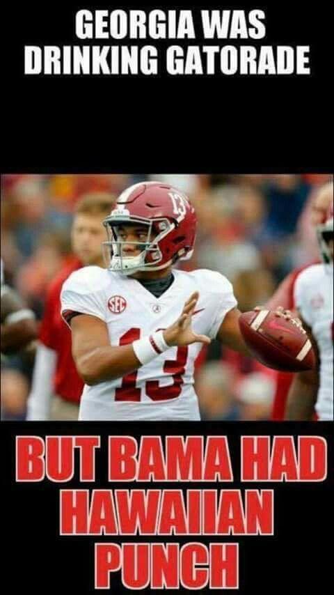 Alabama Vs Georgia Memes : alabama, georgia, memes, Stephanie, Alabama, Tide,, Crimson, Football,, Football