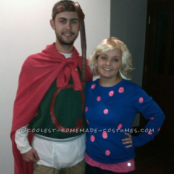 Affordable DIY Quail Man and Patty Mayonnaise Couple ... Quailman And Patty Mayonnaise Costume