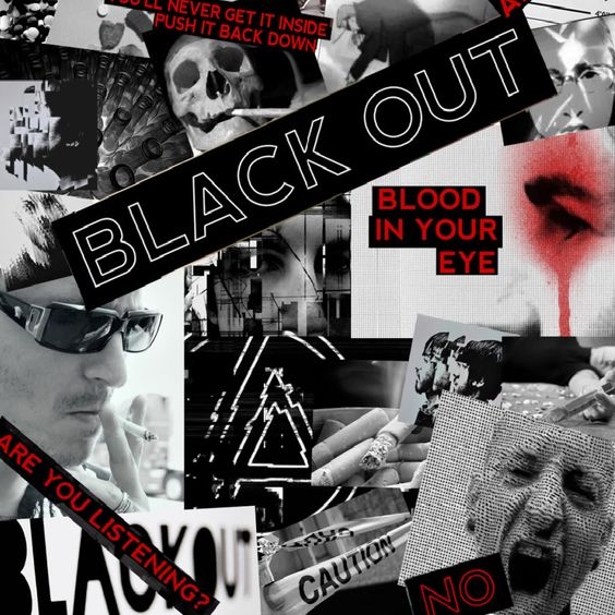 Linkin Park – Blackout (single cover art)