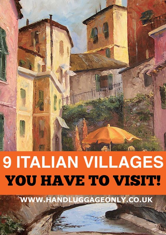 9 Amazing Little Italian Villages You Need To Visit!