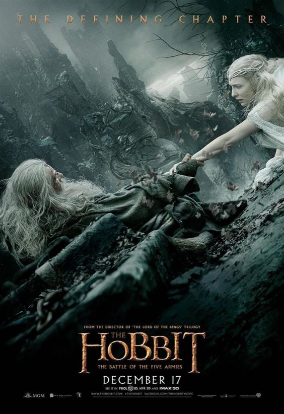 O Hobbit A Batalha dos Cinco Exercitos poster 14Out2014: