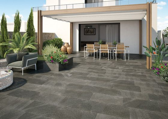 Stromboli and cer mica on pinterest - Suelo de terraza exterior ...