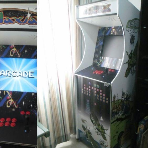 On instagram by e_arcade #retrogames #microhobbit (o) http://ift.tt/1WYX9Wc de Mais.  Mais um trabalho concluído.
