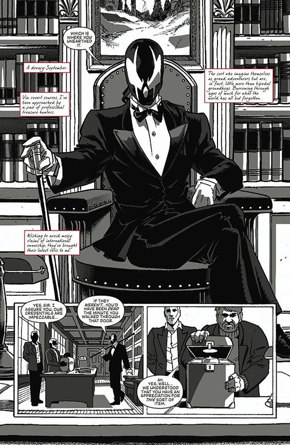 Preview: Grendel Vs. The Shadow #1, Page 3 of 10 - Comic Book Resources