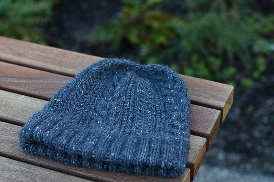 Ravelry: Crazy Cable Hat pattern by daniel
