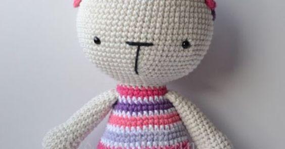 Es un Mundo Amigurumi: Patrón gratis!!! Conejita con Cintillo de Flores | Maggie's Crochet - All About Crocheting Group Board | Pinterest | Amigurumi, Bunnies …
