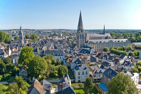City of Vendôme, France