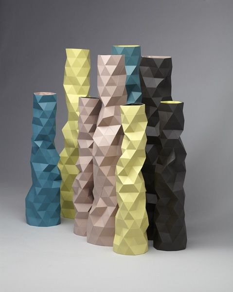 faceture vases: Biggest Design, Product Design, Design Trends, Faceture Vases, Geometric Design, Cuttance Vases, Trend Facets, Faceted Objects