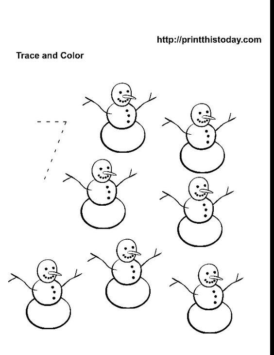 Common Worksheets » Number 7 Coloring Page - Preschool and ...