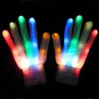 Buy LED Gloves - White