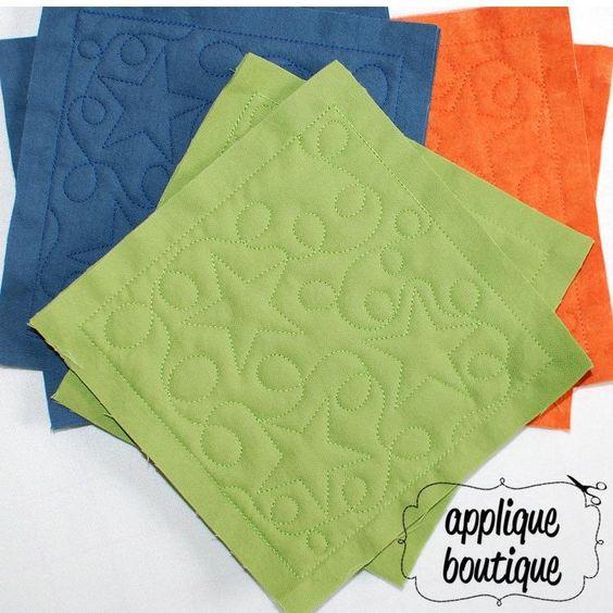 Star Quilt Embroidery Design : Machine Embroidery Design, Machine Quilted Rag Quilt, In ...